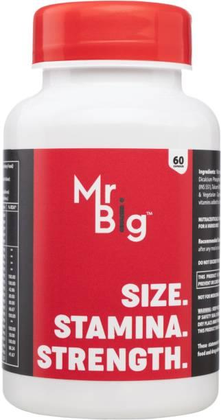 NotShy Mr.Big L-Arginine & Ginseng Extract Multi-Vitamins Supplements Endurance Stamina