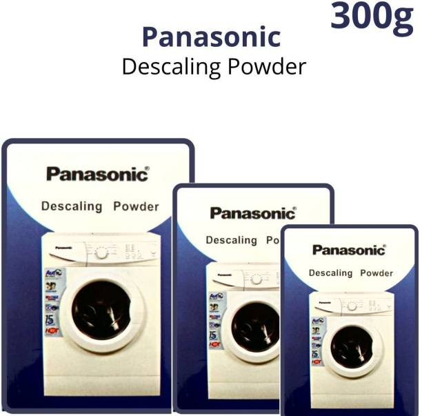 Descaling Powder 300 GM For Drum/Tub/Scale Cleaner of Panasonic Washing Machine (Pack of 3) Detergent Powder 300 g
