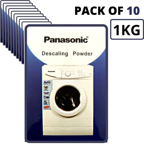 Descaling Powder 1 KG For Drum/Tub/Scale Cleaner of Panasonic Washing Machine (Pack of 10) Detergent Powder 1 kg