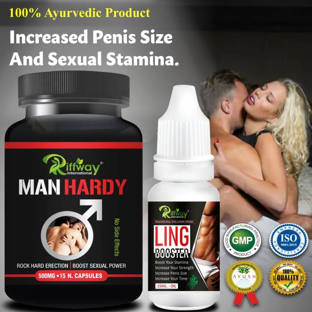 Fasczo Man Hardy Sexual Capsules & Booster Oil For Sexual Powder Sex Time Badhane / Sexual Power Booster Tablets, Sex Power Medicine for Long Lasting Erection for men Stamina Booster Capsules, , , strong i 100% Ayurvedic