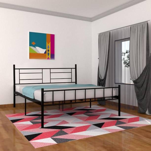 Flipkart Perfect Homes Studio Palermo Metal Queen Bed