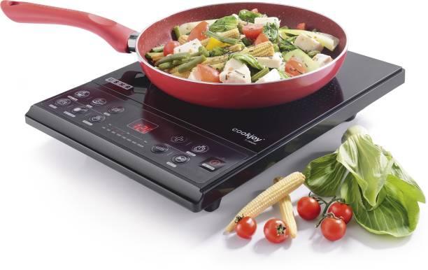 Usha CJ2000XPC Induction Cooktop (Push Button) with Sauce Pan