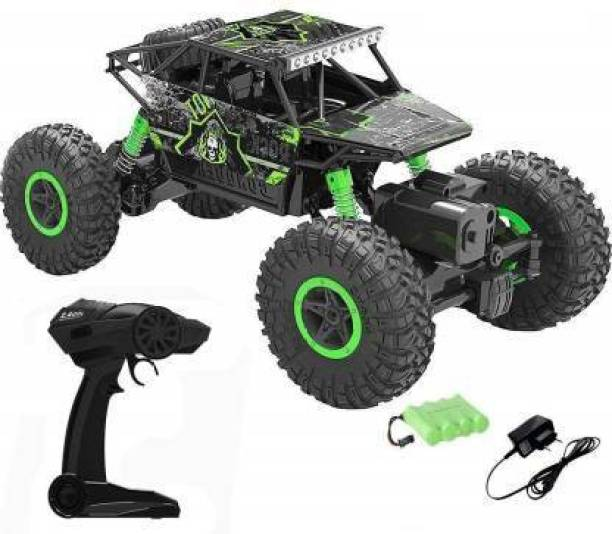Rock Crawler one High Speed Monster Rock Car Leader Climbing RC Rechargeable Car with Remote Control and 4 WD 1:18 Monster Toy Truck for Kids