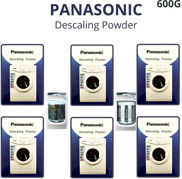 Descaling Powder 600 GM For Drum/Tub/Scale Cleaner of Panasonic Washing Machine (Pack of 6) Detergent Powder 600 g