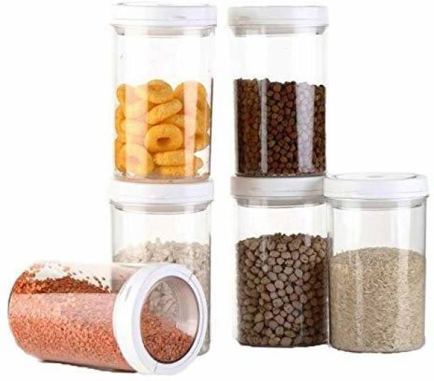 Flipkart SmartBuy Plastic Unbreakable volvo jar Lock Food Storage Container Set For Kitchen Jar With Lid  - 1400 ml Plastic Grocery Container