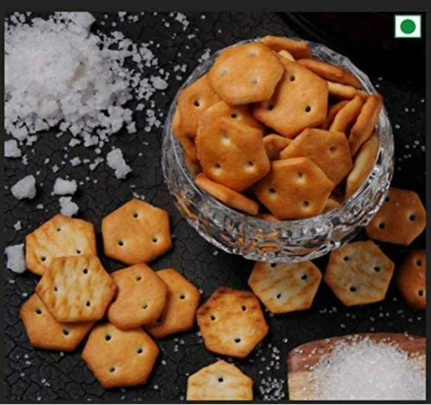 Organic farm Salted Crackers (Salted Mini Biscuits) Salted Biscuit