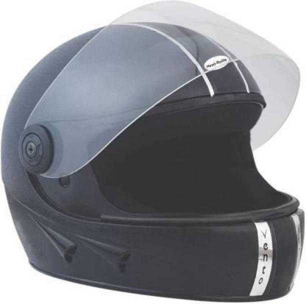 HDRC GoMechanic Anymal Series -Hawk Full Face Clear Visor Motorsports Helmet (Black) Motorbike Helmet