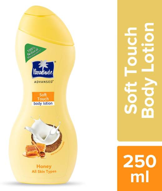 Parachute Advansed Body Lotion Soft Touch,With Honey,Silky Smooth Skin