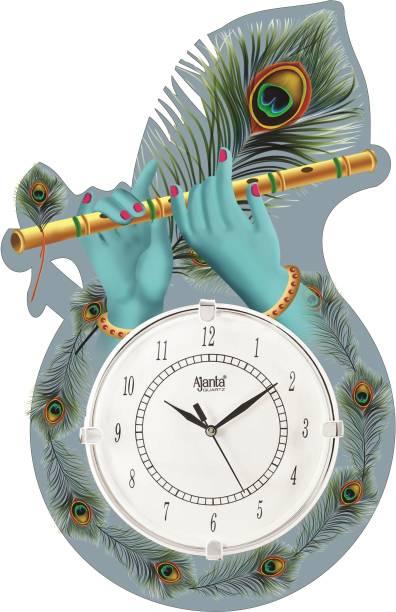 AJANTA Analog 30 cm X 16 cm Wall Clock