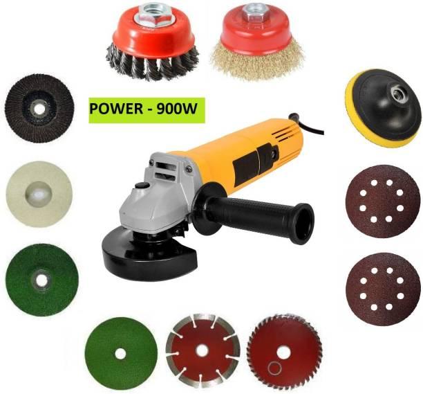 DUMDAAR Multi Use Powerful Grinder With Multi Usable Combo Angle Grinder (100 mm Wheel Diameter) Angle Grinder Angle Grinder