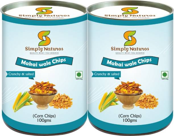 Simply Naturos Corn Wale Chips