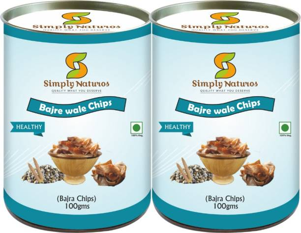 Simply Naturos Bajra Wale Chips