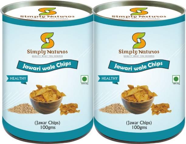 Simply Naturos Jawar Wale Chips