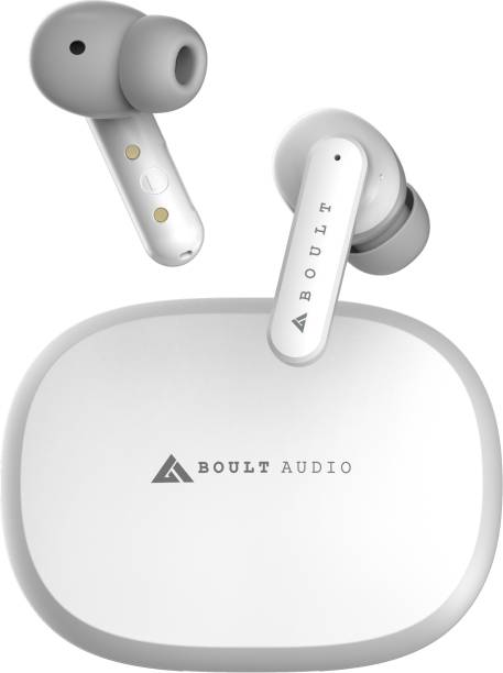 Boult Audio AirBass ENCore with Environmental Noise Cancellation (ENC) Bluetooth Headset