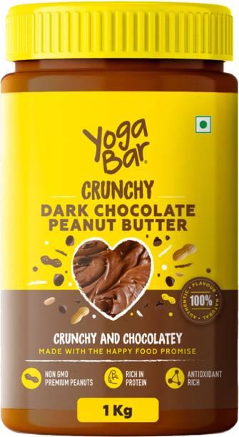 Yogabar Crunchy Dark Chocolate Peanut Butter 1 kg
