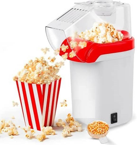 BMS Lifestyle Air Fry Popcorn & Healthy Snack Maker Oil Free 1200 W BPA-Free BMS-SM-01 60 g Popcorn Maker