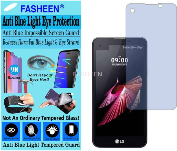 Fasheen Tempered Glass Guard for LG K500I (X SCREEN) (Impossible UV AntiBlue Light)