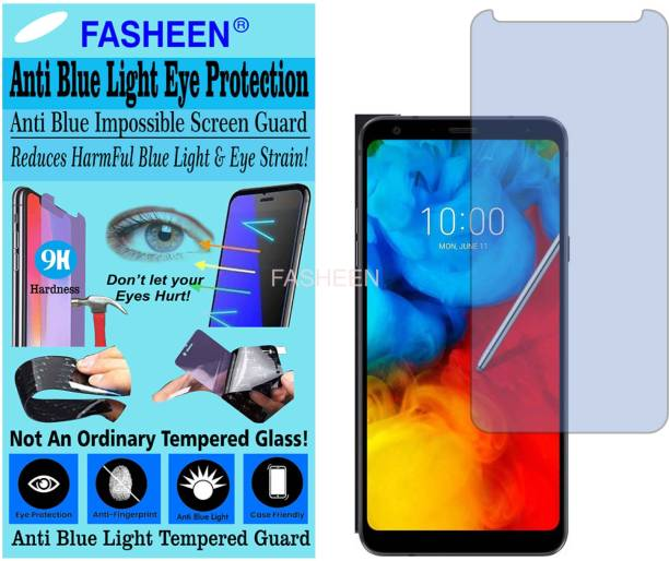 Fasheen Tempered Glass Guard for LG Q STYLUS ALPHA (Impossible UV AntiBlue Light)