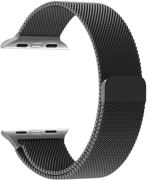 TIZUM Milanese Loop Band Strap for Apple Watch Series 6/ SE/ 3/ 5/ 4, 44mm & 42mm Steel Alloy Smart Watch Strap