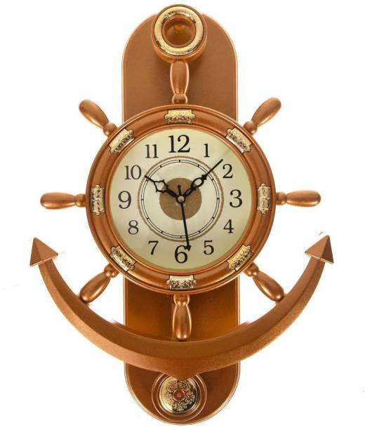 BIG BANG CREATIONS Analog 35 cm X 25 cm Wall Clock