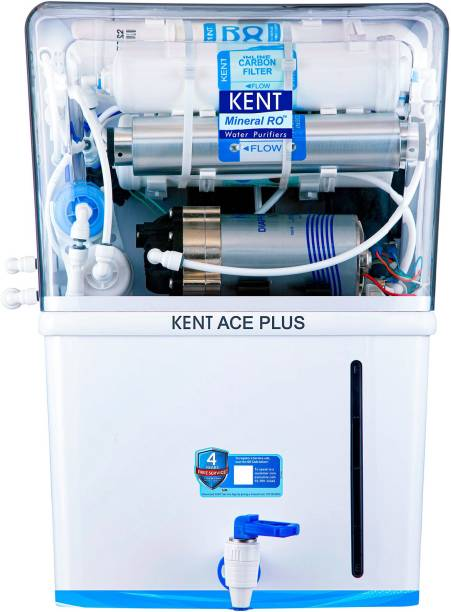 KENT ACE Plus 8 L RO + UV + UF + TDS Control + UV in Tank Water Purifier
