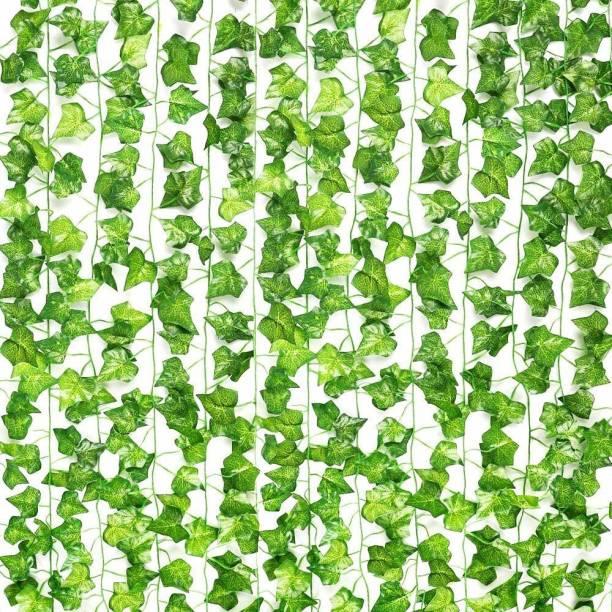 Deep Art THE MONEY PLANT 6 LEAF Bonsai Artificial Plant