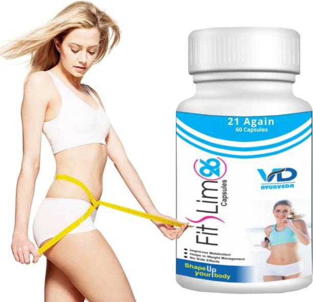 21 again Fit Slim Weight Loss Supplement-Fat Buster Capsule - Fat Loss Capsule