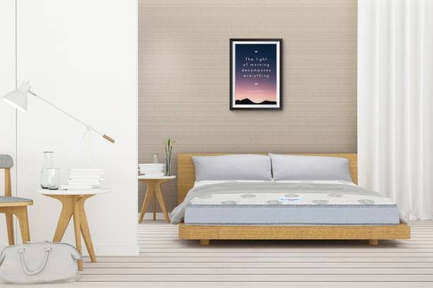 Sleep Spa SPINE SUPPORT Orthopedic Dual Comfort 4 inch Double Bonded Foam Mattress