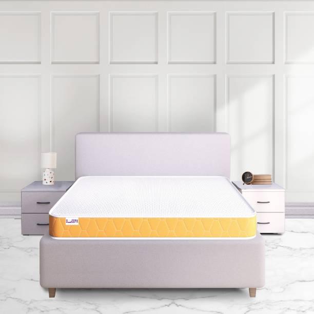 SleepX Dual Medium Soft & Hard 6 inch Single High Density (HD) Foam Mattress