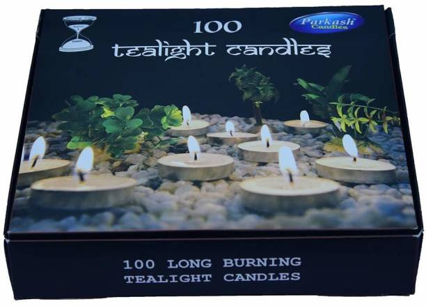 parkash Tealight Candles Pack Of 100 Candle