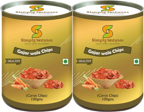 Simply Naturos Carrot Wale Chips