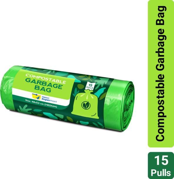 Flipkart Supermart Compostable Medium Garbage Bag