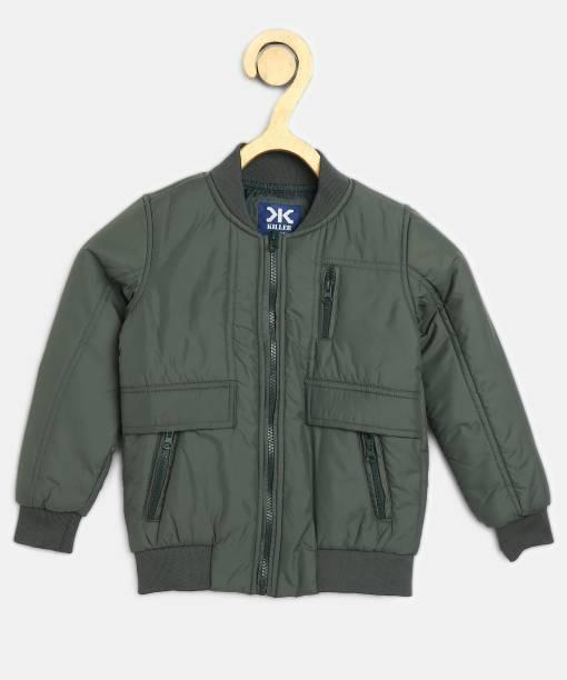 KILLER Full Sleeve Solid Boys Jacket