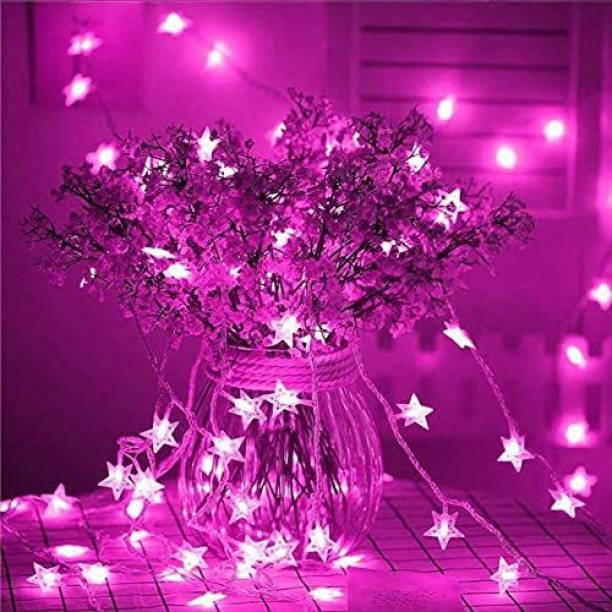 Enormity 315 inch Pink Rice Lights