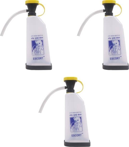 Safies Escort Emergency Eye Wash Bottle Pack Of 3 Bottles Safety Shower