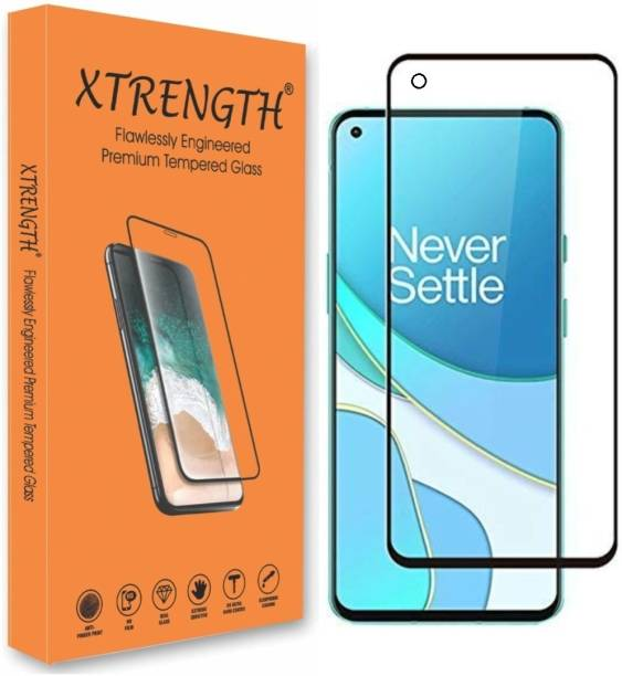 XTRENGTH Edge To Edge Tempered Glass for OnePlus Nord 2 5G, OnePlus Nord CE 5G