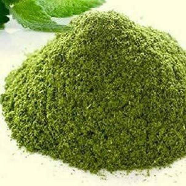 Freshtige Pudina Powder For Food   Natural Green Mint Leaf Powder   Pudina Leaf Powder   Dry Mentha Pudina Powder   Natural, Vegan, Gluten Free   Spices & Masalas