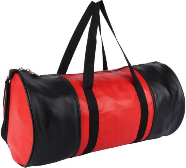 TRUE 2 F black,red (multicolour) gymbag for men and women