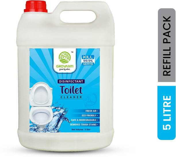 GROVANTI ORGANIC Toilet Cleaner Blue 5 Liter Ocean Liquid Toilet Cleaner