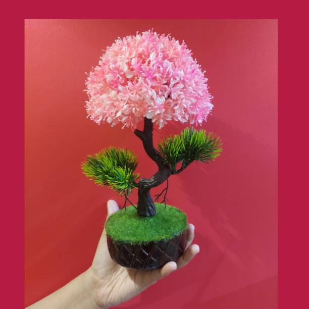 truespeedy ART32 Bonsai Wild Artificial Plant  with Pot
