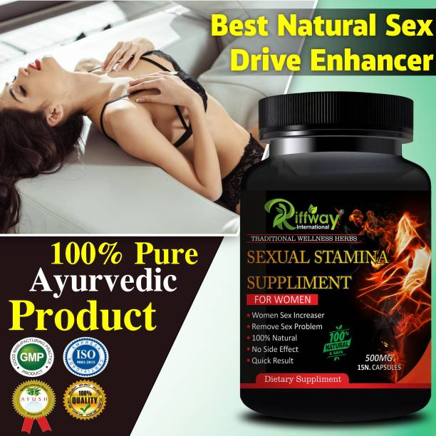 inlazer Sexual Stamina Supplement For Women Sexual capsules For Intensifies Organism & Boost Charisma & Sexual Energy Provide Full Satisfaction To Your Partner, Women Sex Power Booster Helps improve libido, stamina and performance Increases sexual arousal and lovemaking desire 100% Ayurvedic