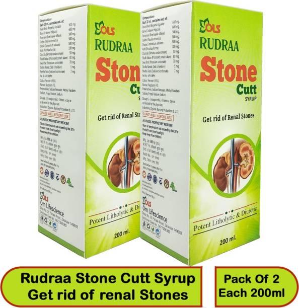 Rudraa Stone Cutt pathri nikalne ki dawai kidney stone medicine ayurvedic syrup Pack of 2