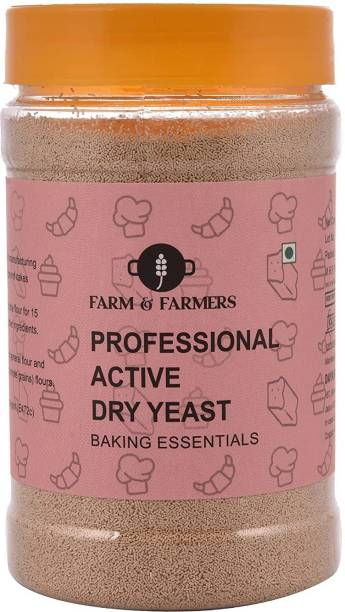 FARMS & FARMERS nstant Dry Yeast Powder for Pizza Base & Baking- 200 GM Yeast Powder