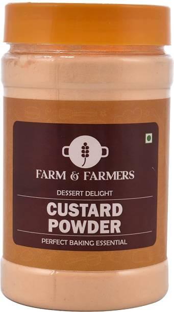 FARMS & FARMERS Custard Powder- 200 GM Custard Powder