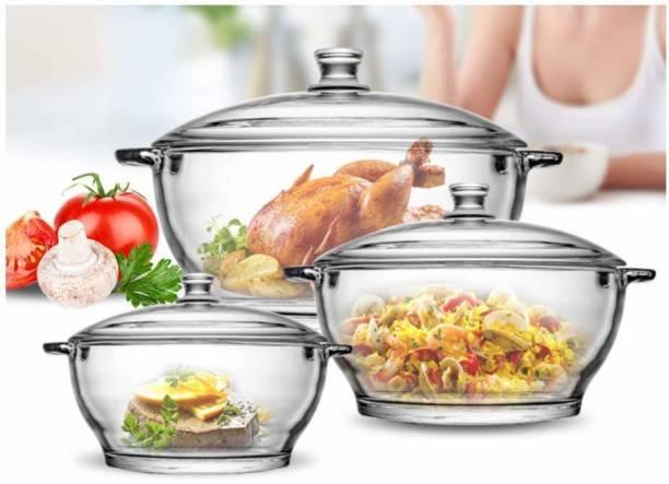 jiyan enterprise1 Glass Casserole Glass Mixing Bowl