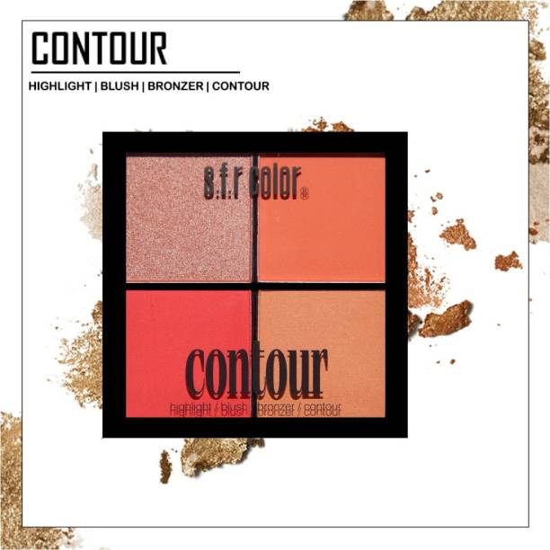 s.f.r color Bronzer, highlighter, contour, blusher combo palette | face makeup palette | All in one face makeup palette