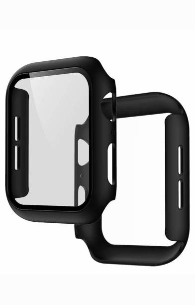 bediwell Edge To Edge Tempered Glass for Apple Watch Series 4, 5, 6, SE - 44mm