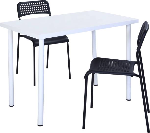KRIJEN Engineered Wood 2 Seater Dining Table