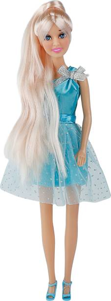 Miss & Chief Hannah Fashion Doll - Blue Shimmery Dress