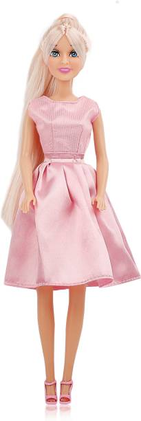 Miss & Chief Hannah Fashion Doll - Pink Evening Frock